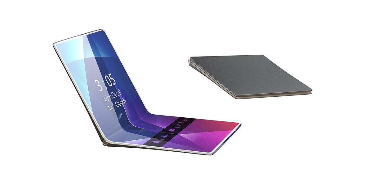 Huawei smartphone flexible