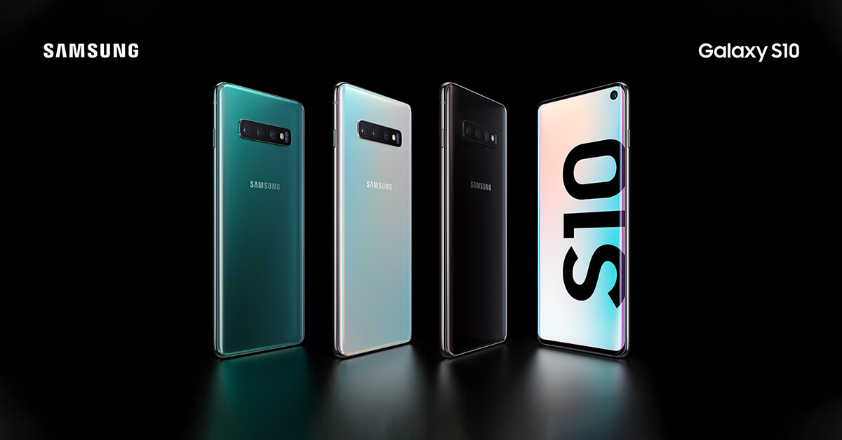 Samsung S10 Colores