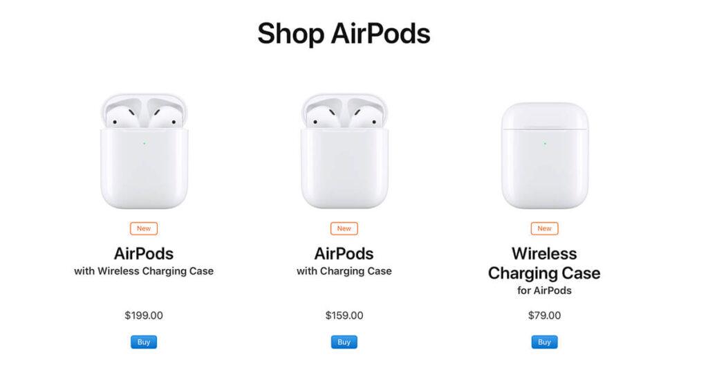 Apple presenta la renovación de los Airpods, decepcionan tanto que parece una falta de respeto a sus usuarios.