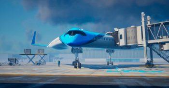 Pasajeros sentados en las alas del avión? Así serán los aviones del futuro!