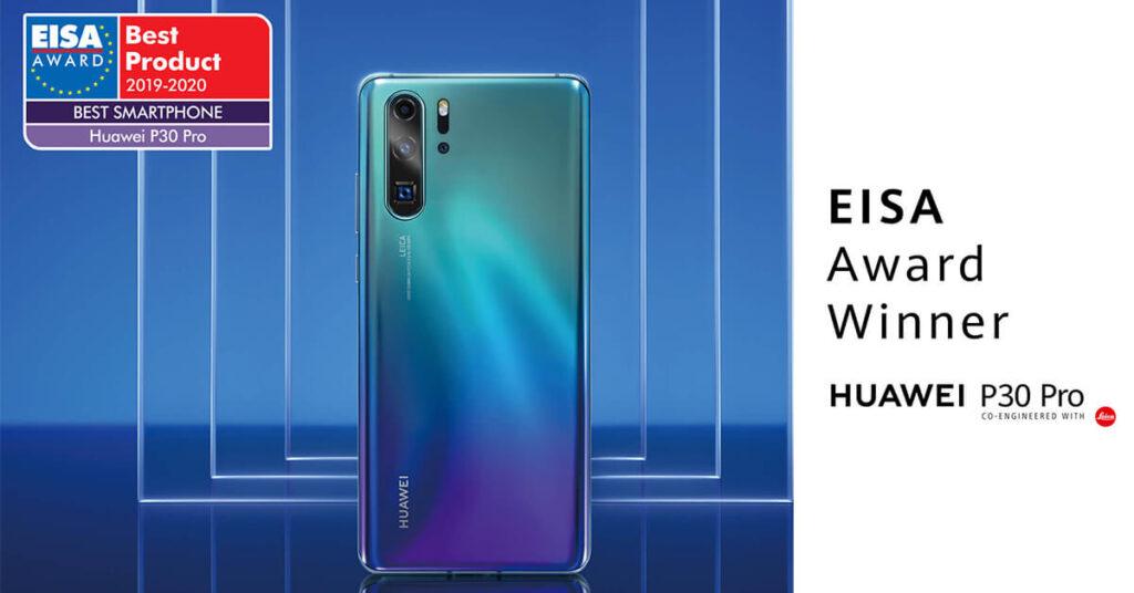 Huawei P30 Pro Ganador EISA