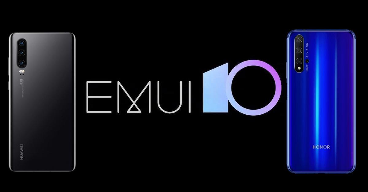 EMUI 10 Smartphones