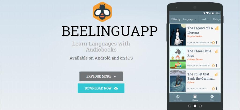 beelinguapp app para aprender idiomas