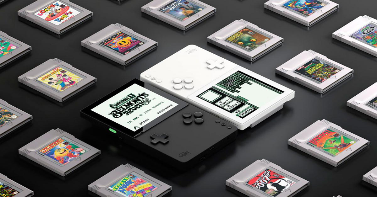 pocket consola retro analogue game boy tecnobit
