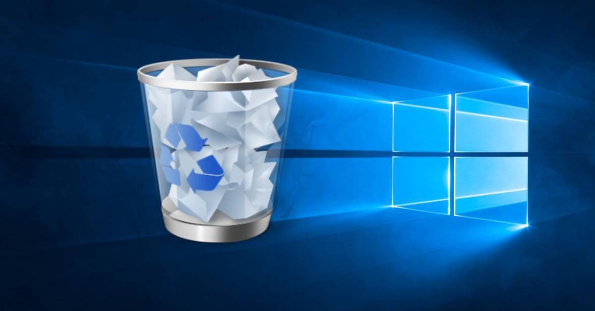 borrar basura windows 10 portada