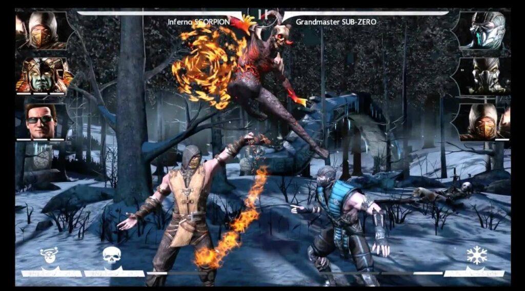 top 3 juegos de lucha mortal kombat