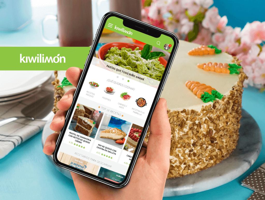 apps recetas kiwilimon