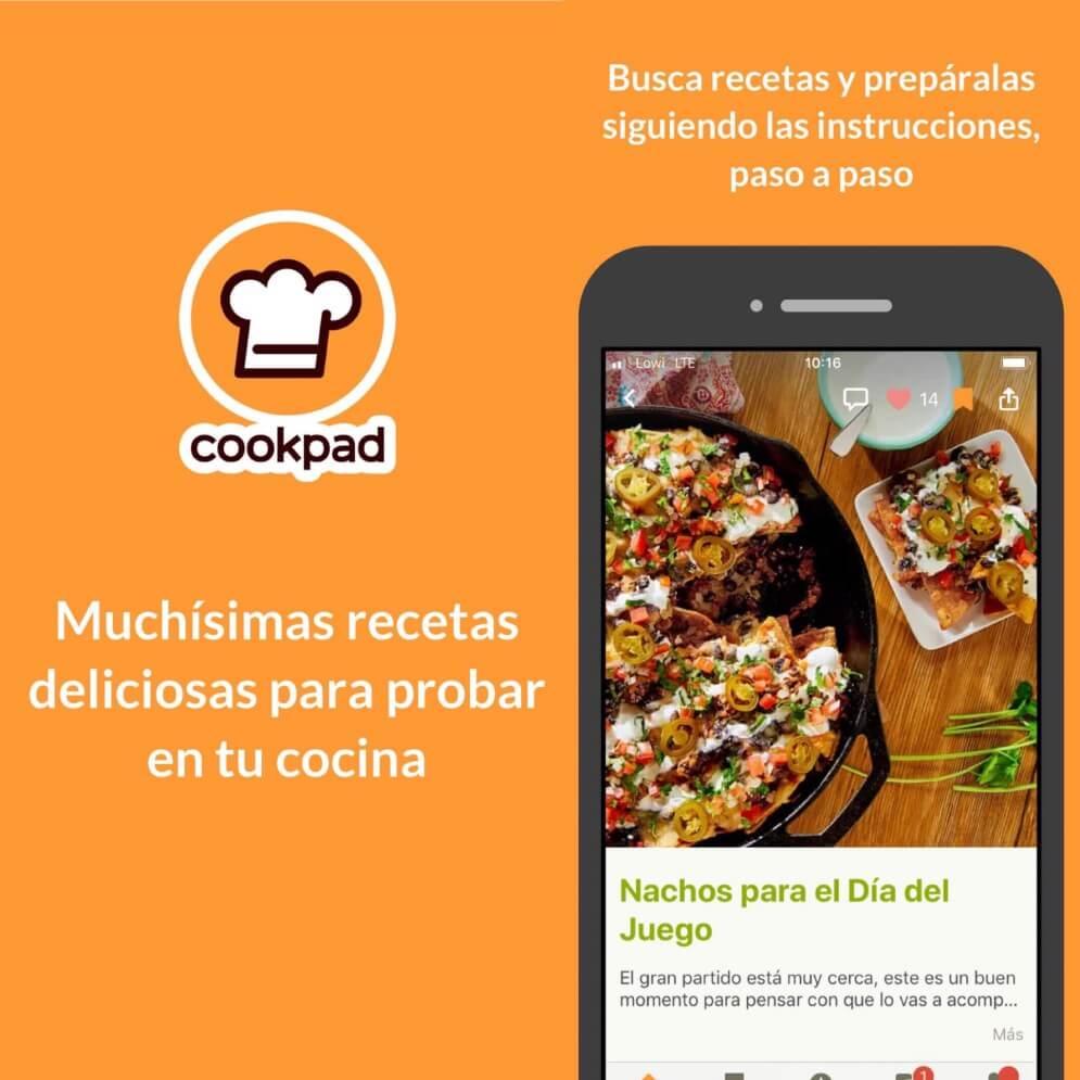 apps recetas cookpad tecnobit