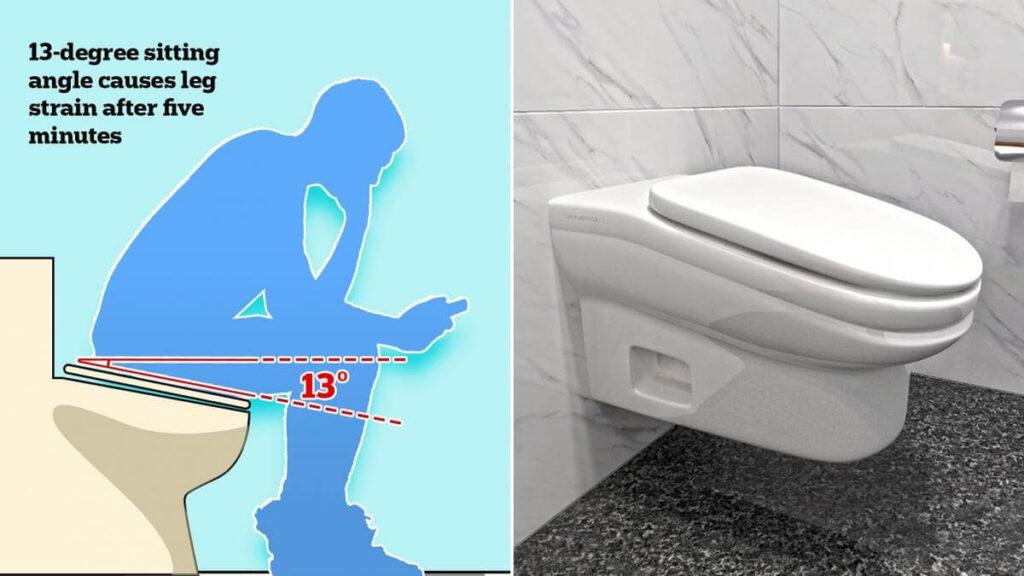 standard toilet tecnobit