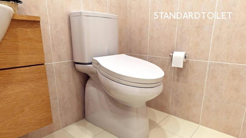 standard toilet tecnobit baño