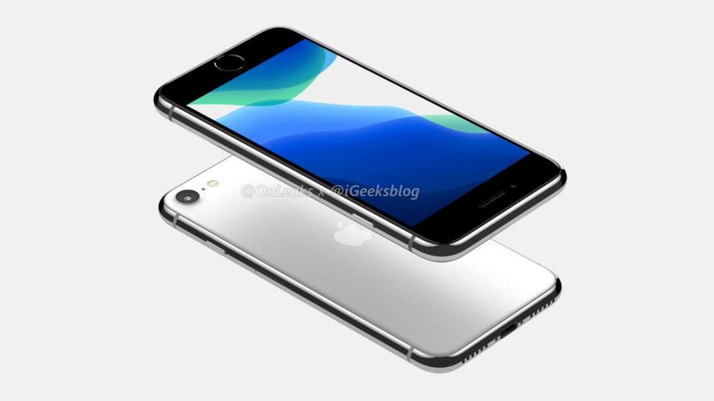 iphone se 2 diseño filtrado