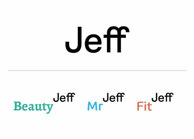 Marcas Jeff