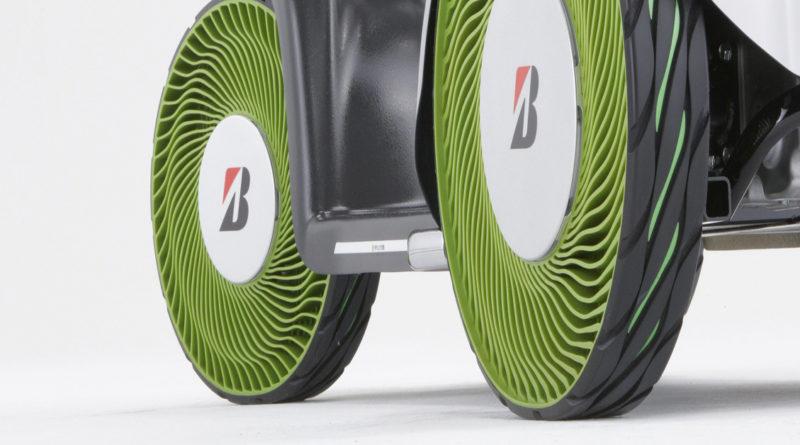 bridgestone airless tires tecnobit