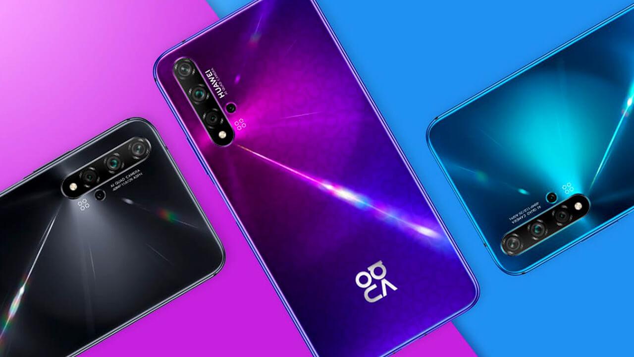 Huawei Nova 5T Colores