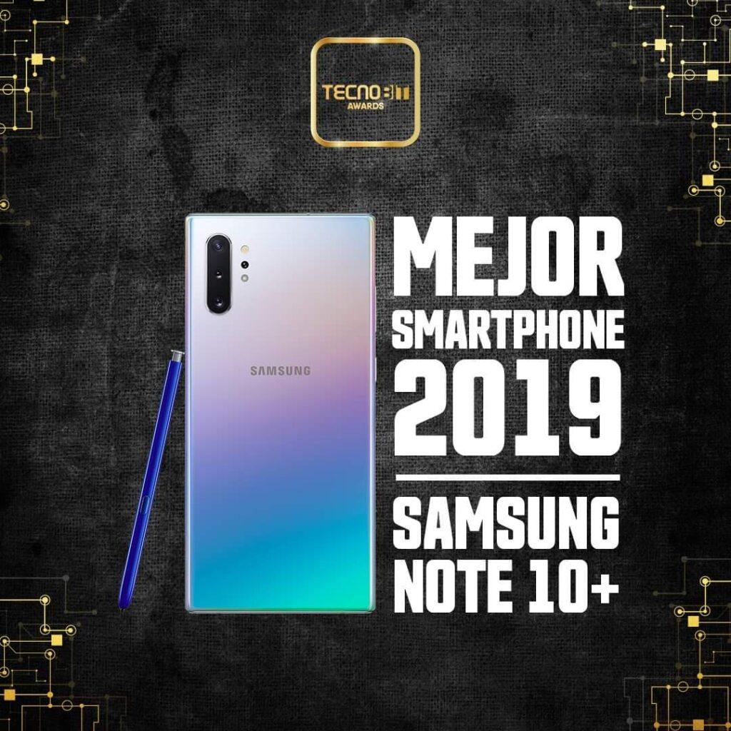 Samsung Note 10+ TecnoBit Awards