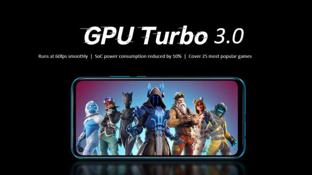 huawei nova 5t gpu turbo 3.0