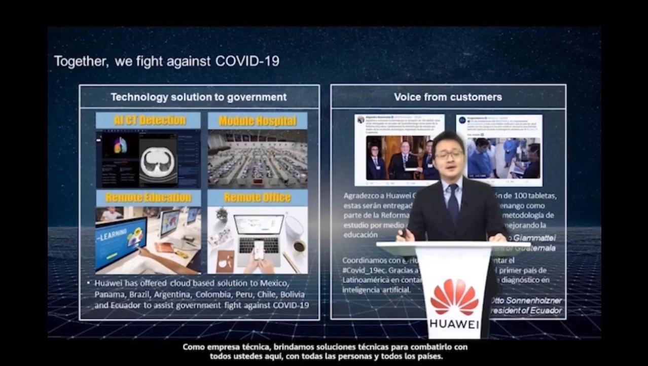 Steven Zhu presidente de Huawei Enterprise para Latinoamérica