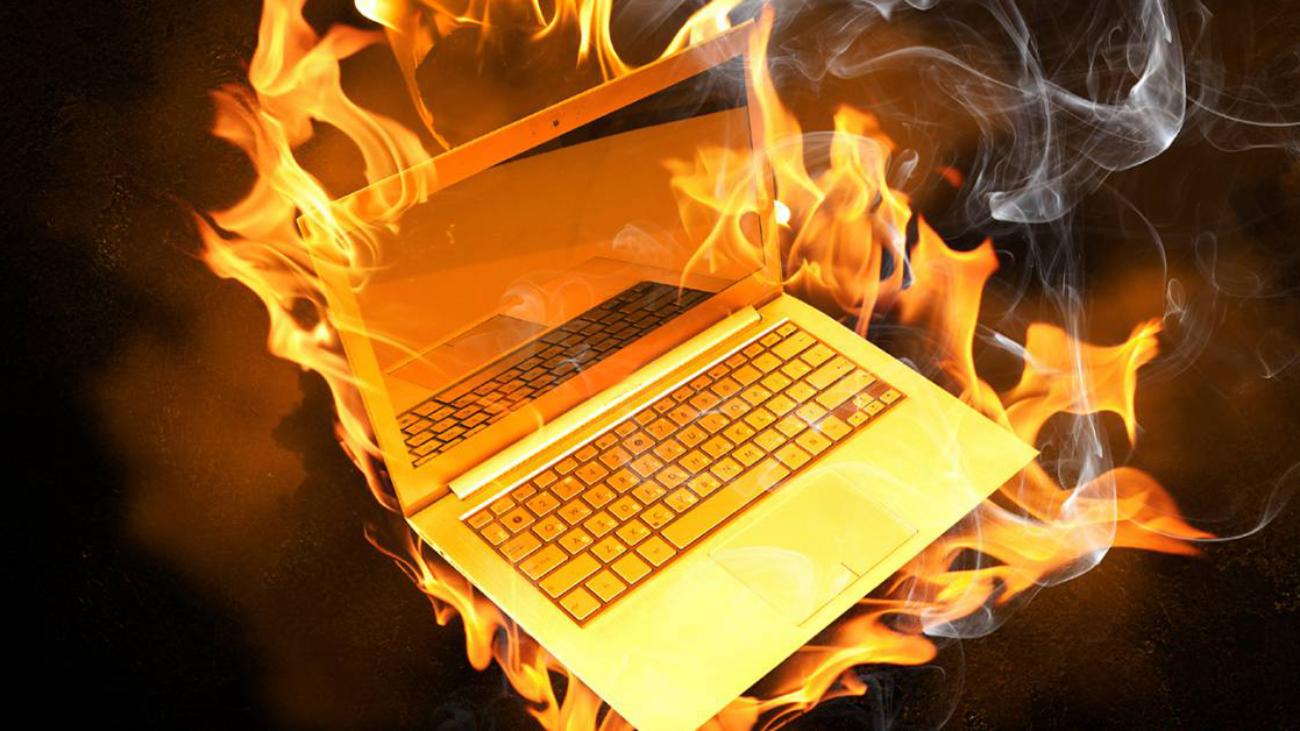 evitar sobrecalentamiento de laptop tips