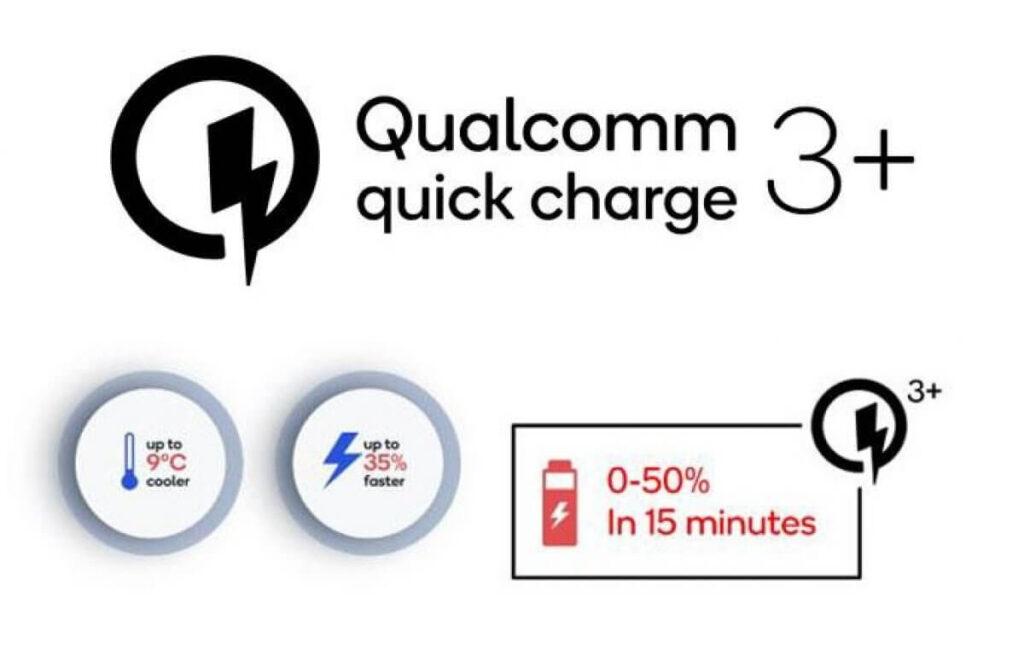 qualcomm quick charge 3+