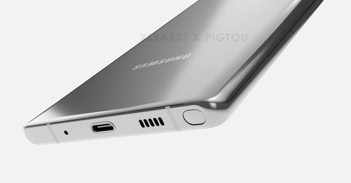 galaxy note 20 diseño