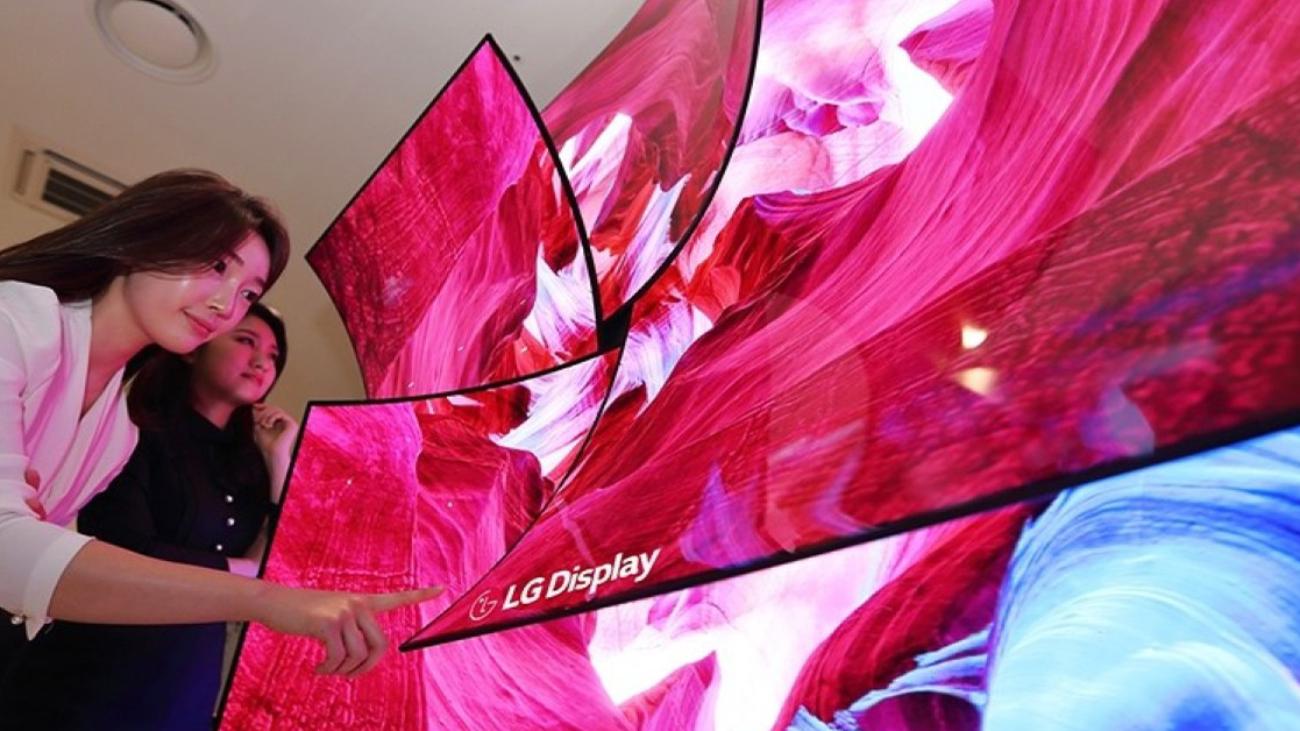 LG pantallas extensibles