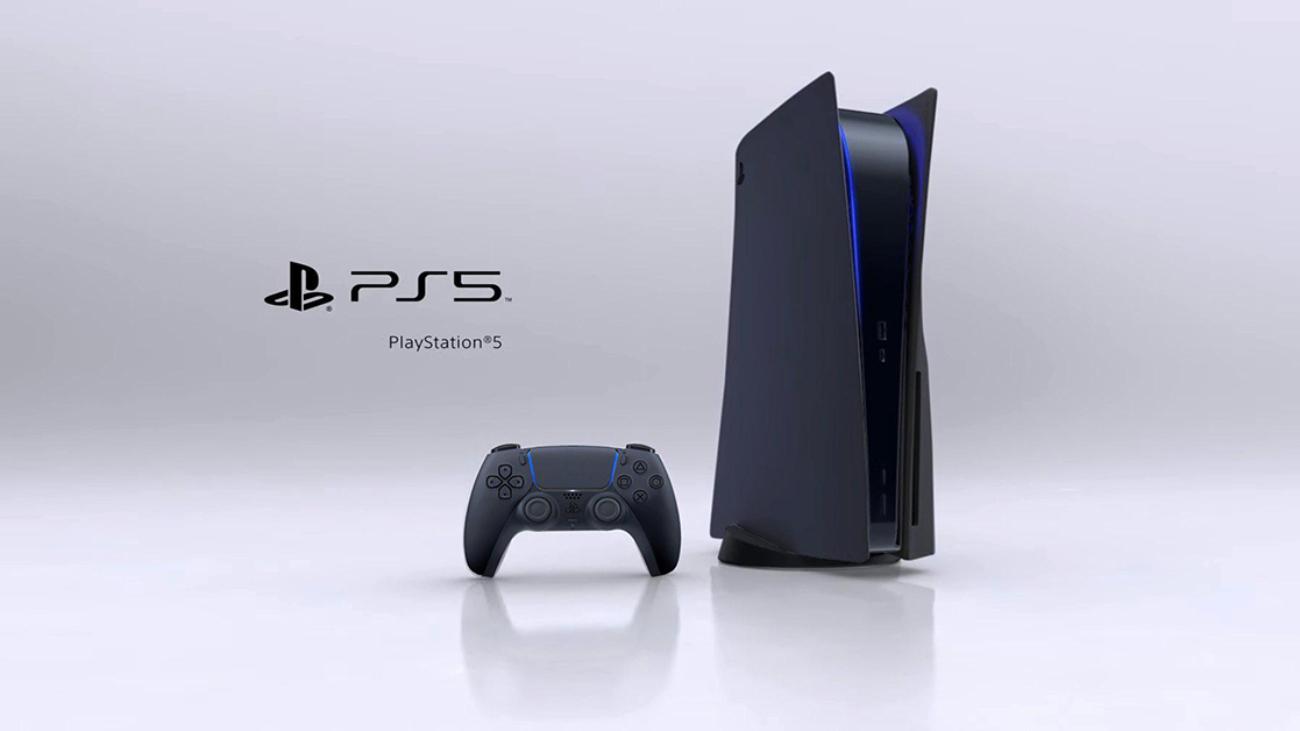 ps5 negro portada