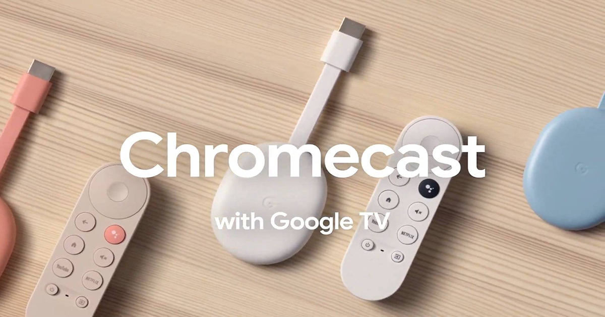 CHROMECAST CON GOOGLE TV