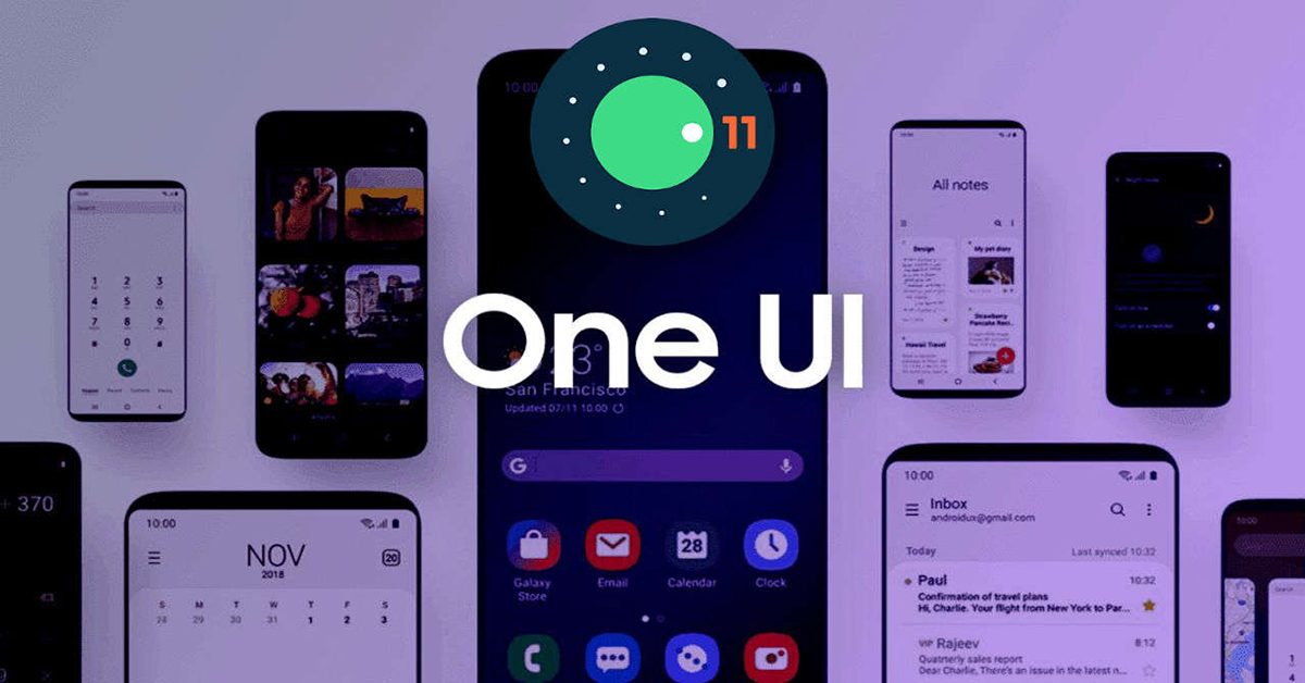 samsung galaxy one ui 3.0 android 11