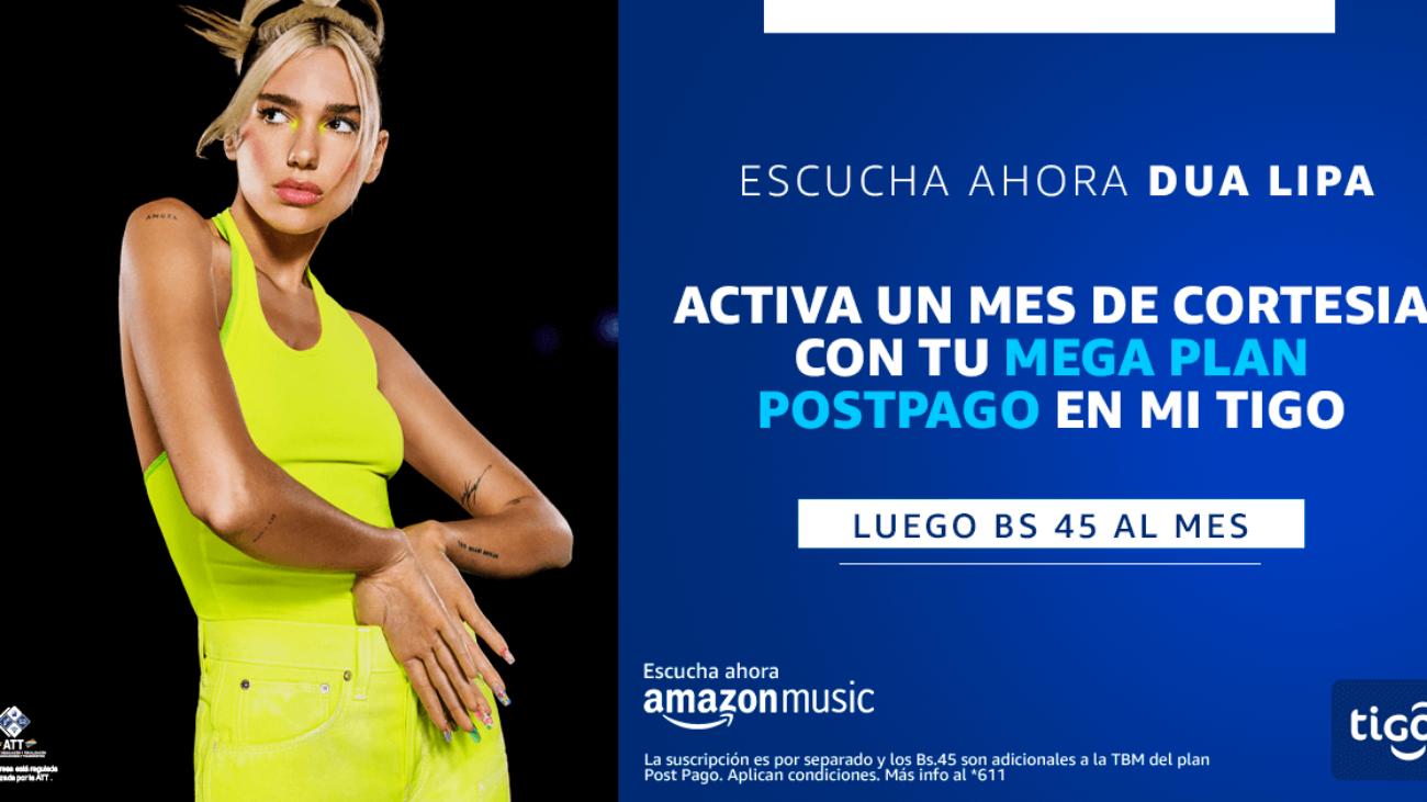 Tigo Amazon Music Mes