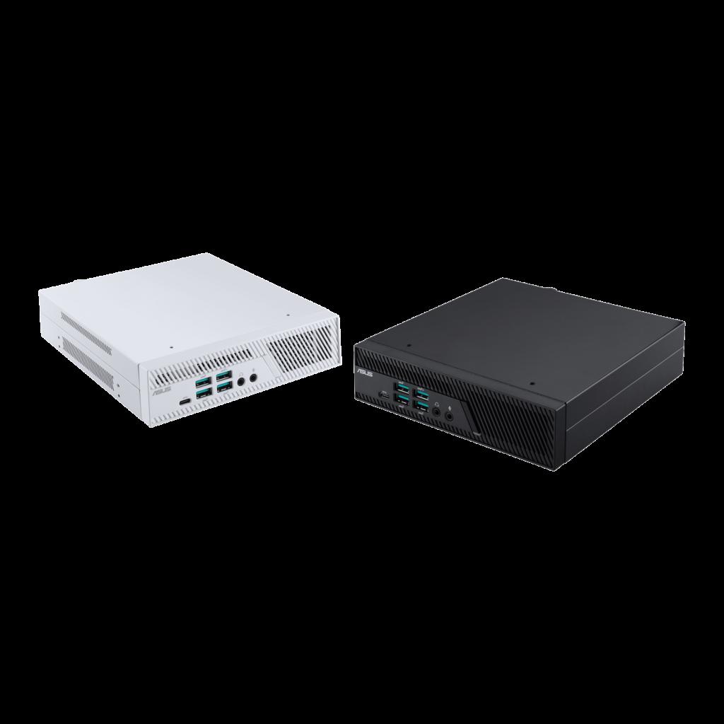 Asus Mini PC PB62 negra y blanca