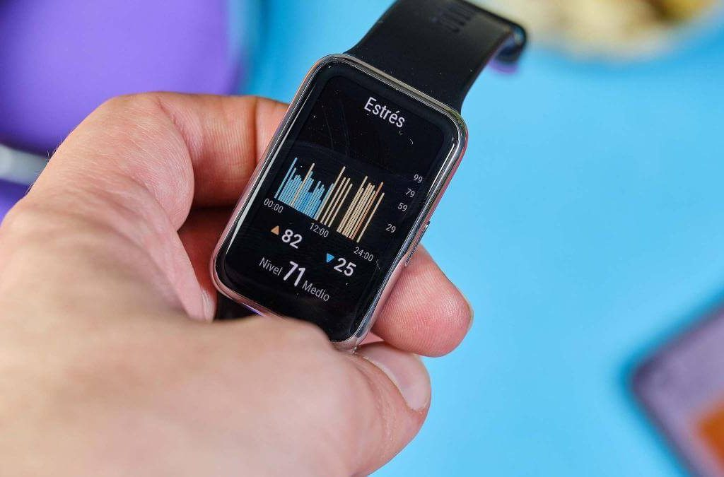 Huawei Watch fit+estrés