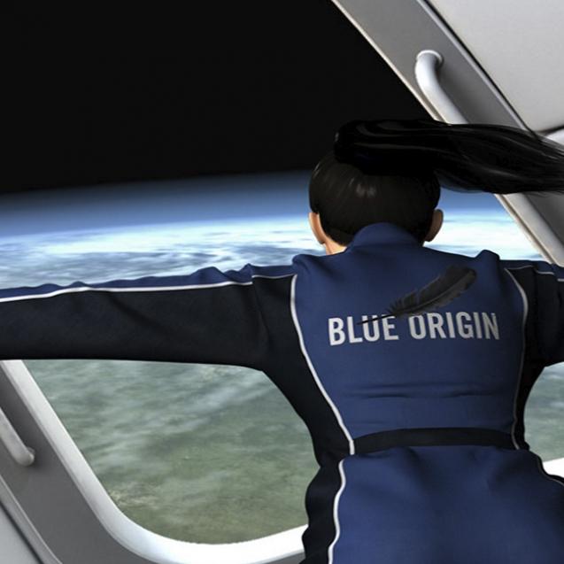 viajes al espacio blue origin