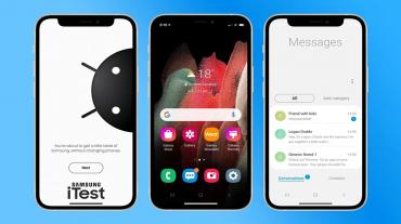 iTest Samsung iPhone