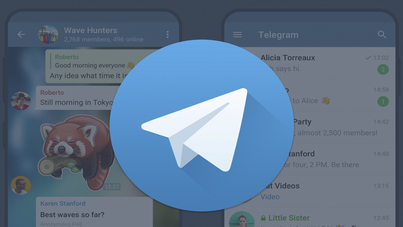 telegram 2 versiones