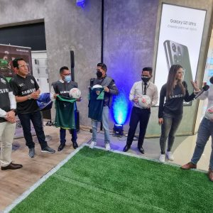 Samsung Combo Futbolero Entrevista