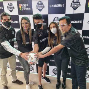 Samsung Combo Futbolero José Rocabado - Mariana Garcia - Pamela Montalvo - Gonzalo Cobo