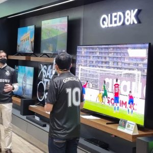 Samsung Combo Futbolero Presentación