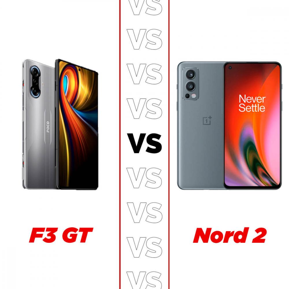 oneplus nord 2 vs poco f3 gt