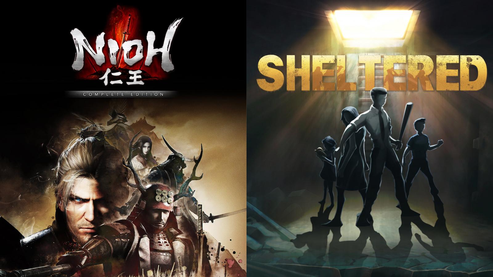 Nioh y Sheltered son los nuevos juegos gratuitos de Epic Games, pruebas de juegos y ofertas PlayStation, Xbox y pc