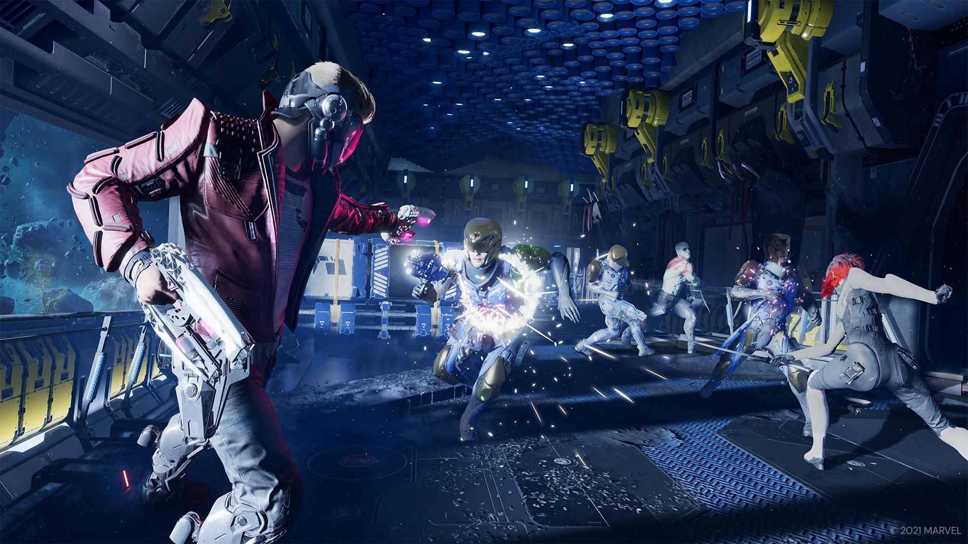 El videojuego de Los Guardianes de la Galaxia llegará este año trayendo una nueva aventura de este grupo de héroes.