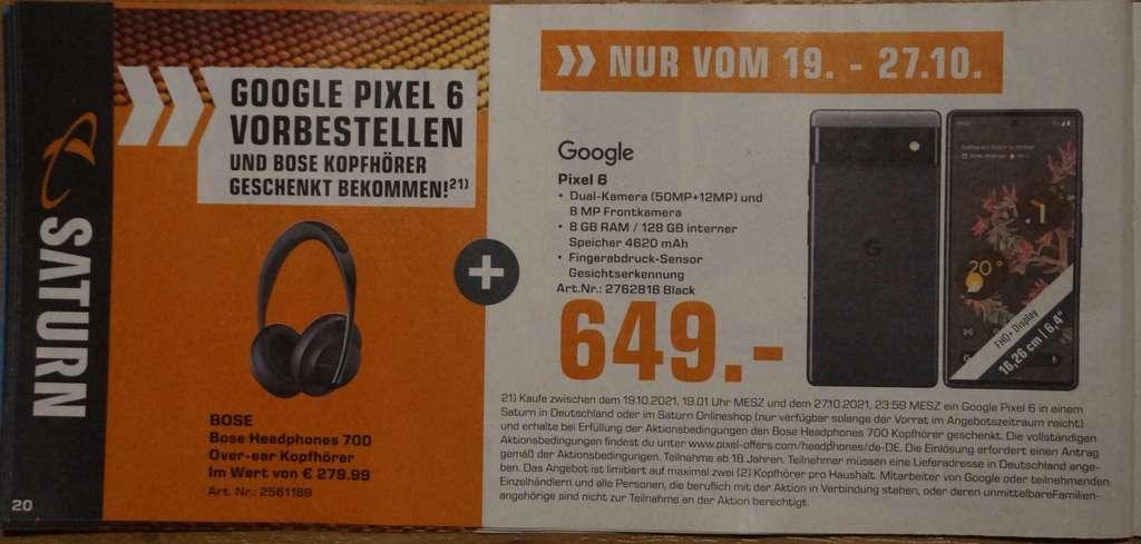 google pixel 6 anuncio alemania