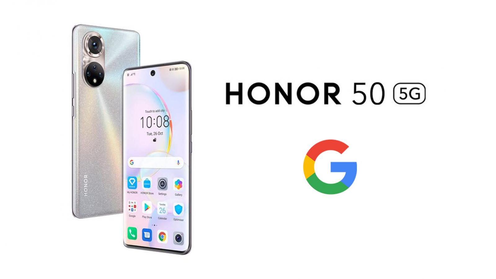 honor 50 servicios de google